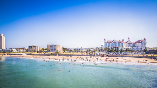The Port Elizabeth Beach Front