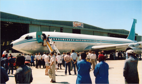 Safairs First Boeing Aircraft