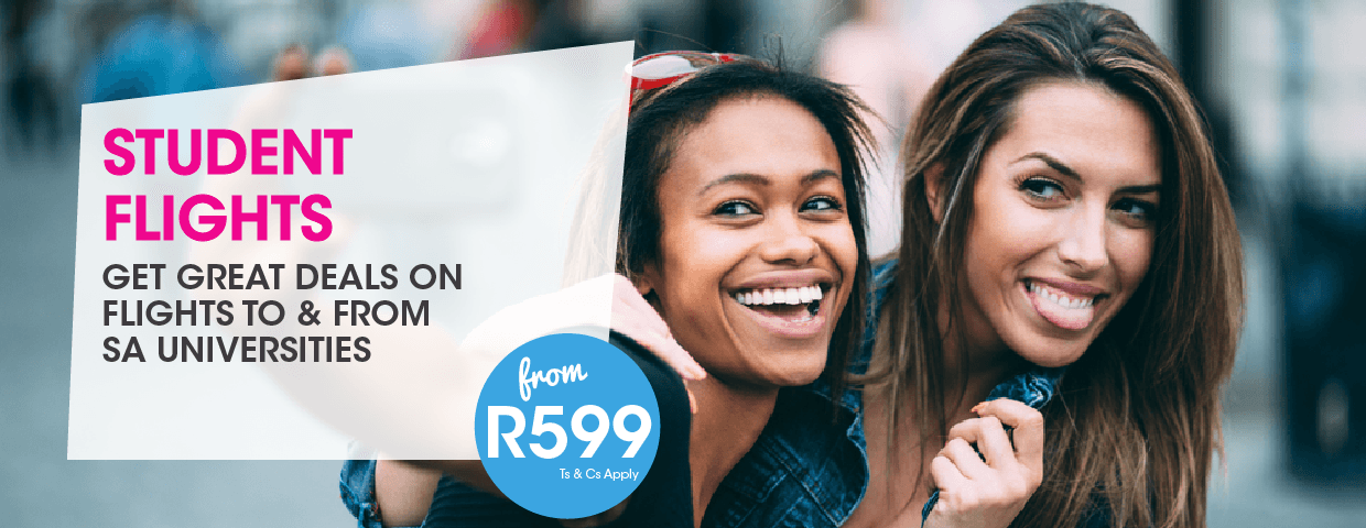 FlySafair Student Flights