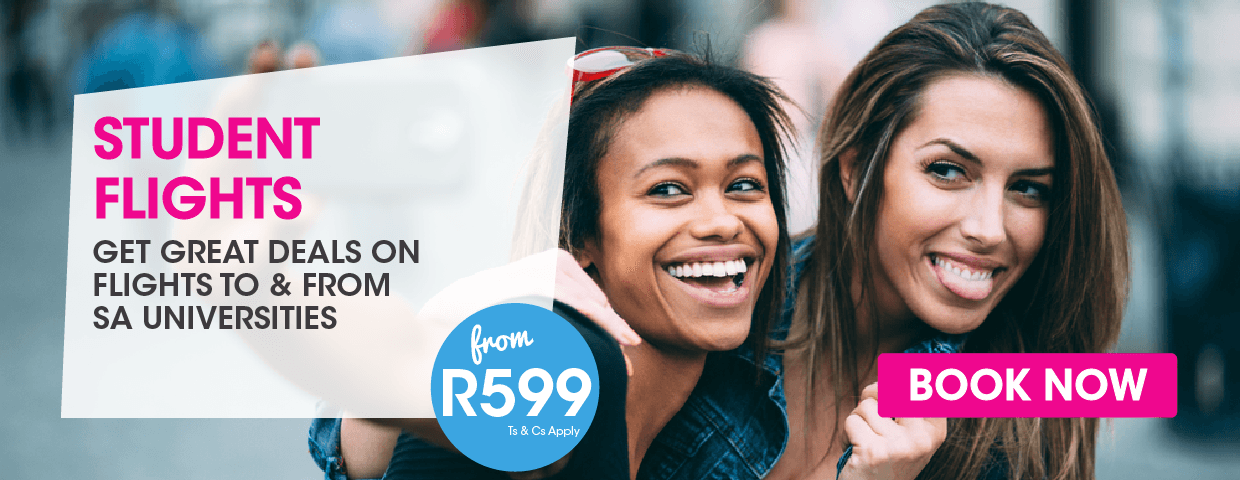 FlySafair Cheap Student Flights