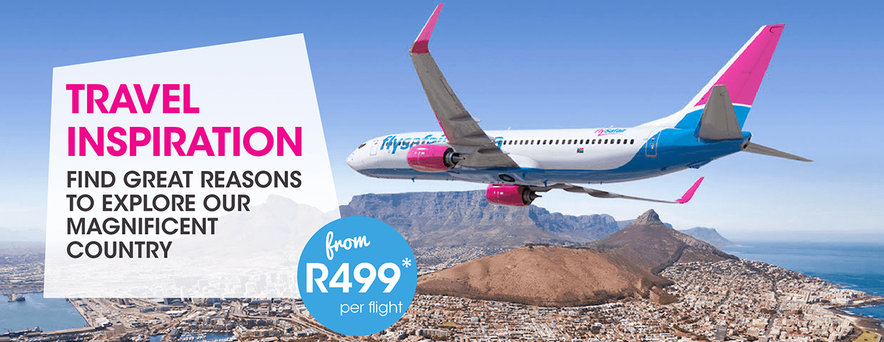 FlySafair Travel Ideas